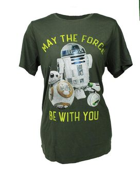 Star Wars - Droids May the Force Be with you Women's T-Shirt