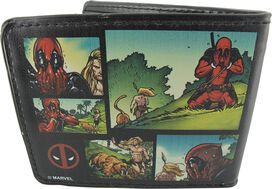 Deadpool Ka-Zar Comic Panels Wallet