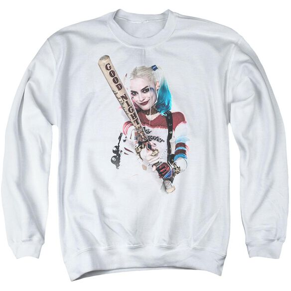 Suicide Squad Bat At You Adult Crewneck Sweatshirt