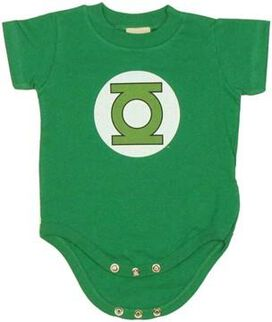 Green Lantern Logo Snap Suit