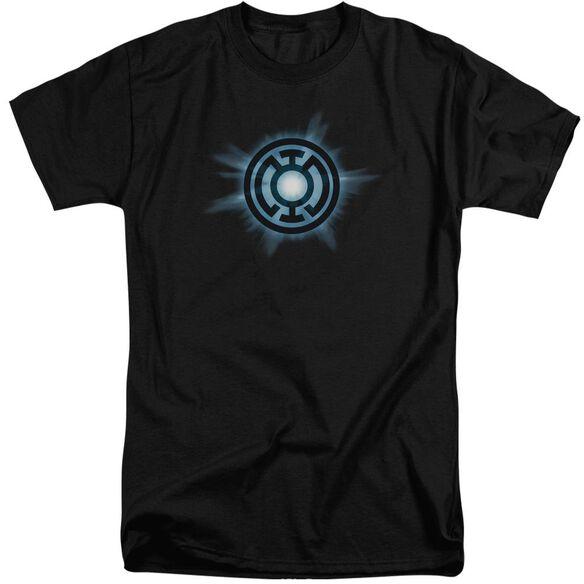 Green Lantern Blue Glow Short Sleeve Adult Tall T-Shirt