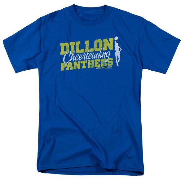 Friday Night Lights Cheer Squad Short Sleeve Adult Royal Blue Royal Blue T-Shirt