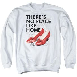 Wizard Of Oz No Place Like Home Adult Crewneck Sweatshirt