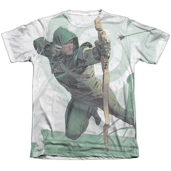 Arrow City Bullseye Adult Poly Cotton Short Sleeve Tee T-Shirt