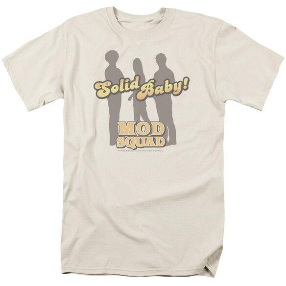 MOD SQUAD SOLID MOD - S/S ADULT 18/1 - CREAM T-Shirt