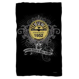 Sun Rockin Scrolls Fleece Blanket