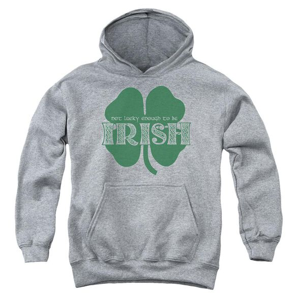 Lucky To Be Irish Youth Pull Over Hoodie Athletic