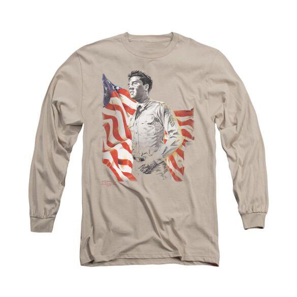 Elvis Presley Freedom Long Sleeve Adult T-Shirt