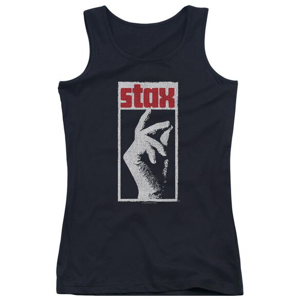 Stax Stax Distressed Juniors Tank Top