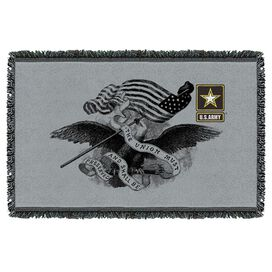 Army Union Woven Throw