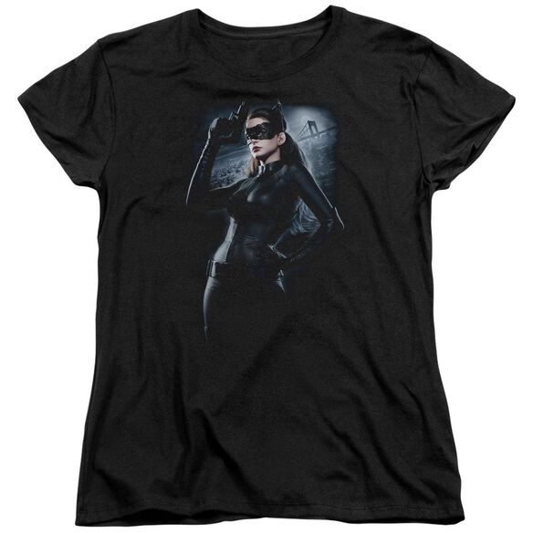 Dark Knight Rises Out On The Town Short Sleeve Womens Tee T-Shirt