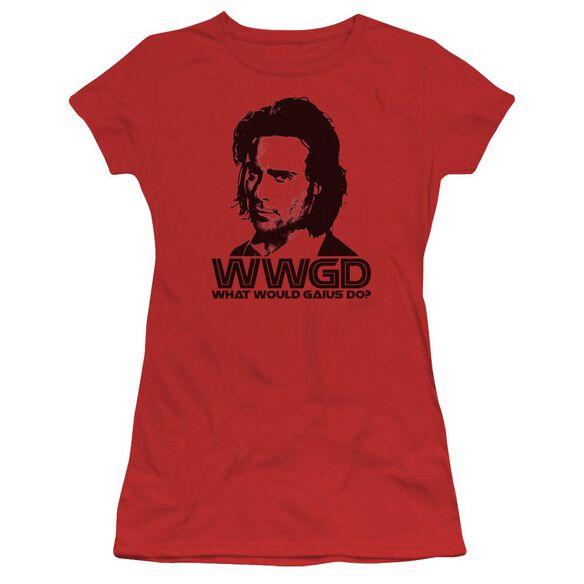 BSG WWGD - S/S JUNIOR SHEER - RED T-Shirt