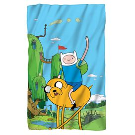 Adventure Time Best Bros Fleece Blanket