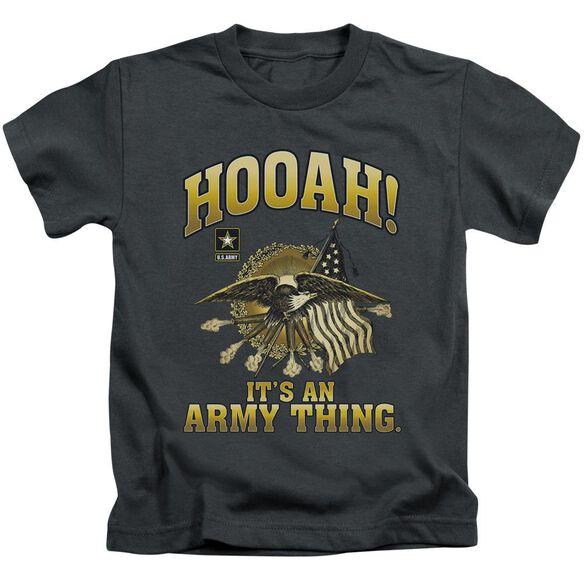 Army Hooah Short Sleeve Juvenile T-Shirt