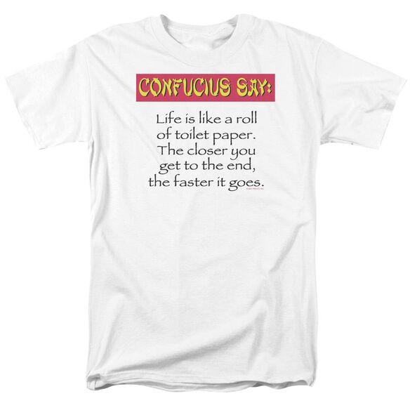 Confucius Short Sleeve Adult T-Shirt