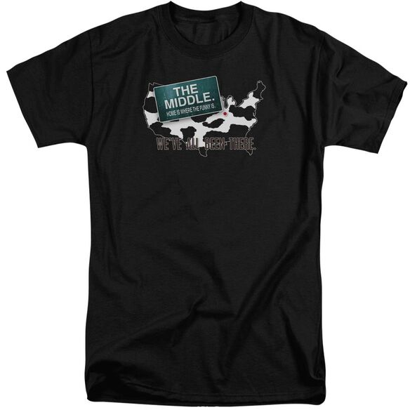 Middle We've All Been There Short Sleeve Adult Tall T-Shirt
