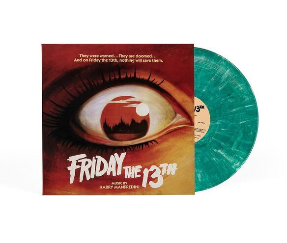 Original Motion Picture Score - Friday The 13th Part 1 [Exclusive Crystal Lake Blue Vinyl]