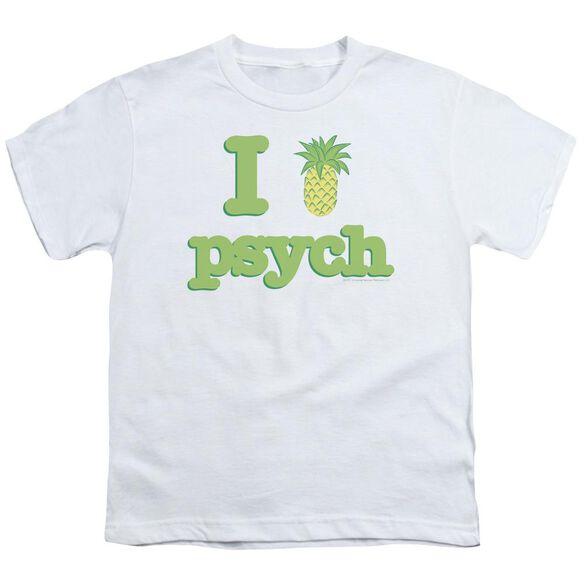 Psych I Like Psych Short Sleeve Youth T-Shirt