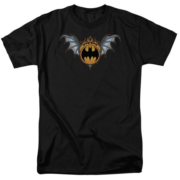 Batman Bat Wings Logo Short Sleeve Adult T-Shirt