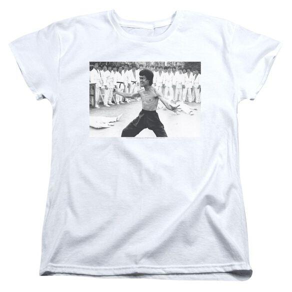 Bruce Lee Triumphant Short Sleeve Womens Tee T-Shirt