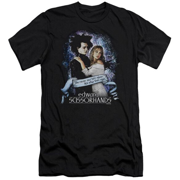 Edward Scissorhands That Night Premuim Canvas Adult Slim Fit