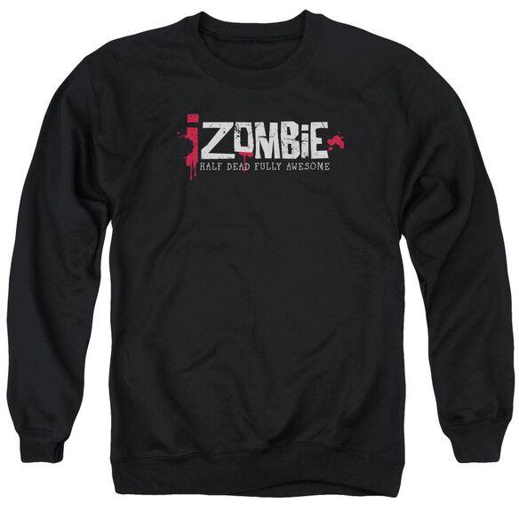 Izombie Logo Adult Crewneck Sweatshirt