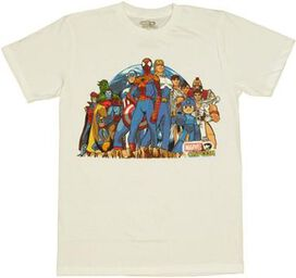 Marvel vs Capcom Cliff T-Shirt Sheer