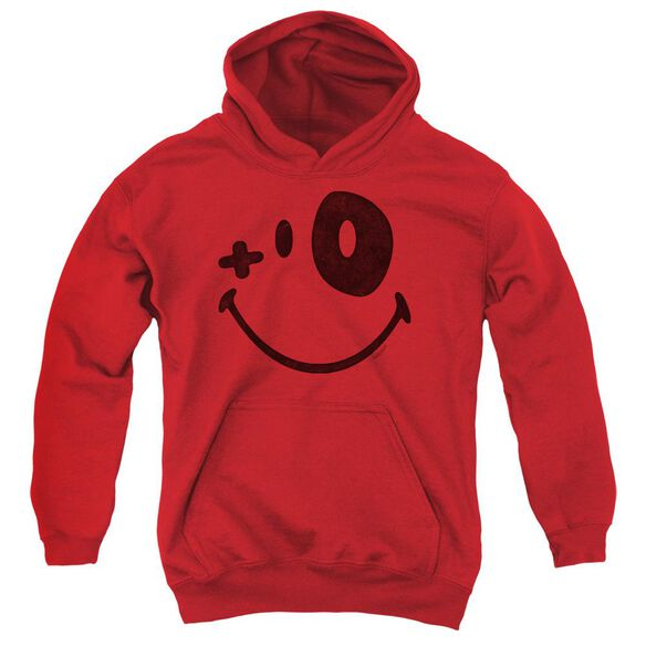 Smiley World Fight Club Youth Pull Over Hoodie