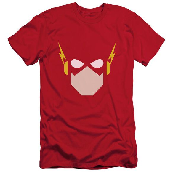 Jla Flash Head Short Sleeve Adult T-Shirt