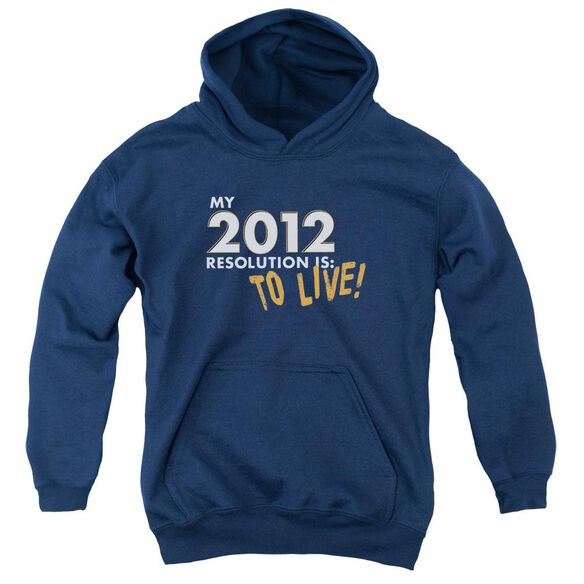To Live! Youth Pull Over Hoodie