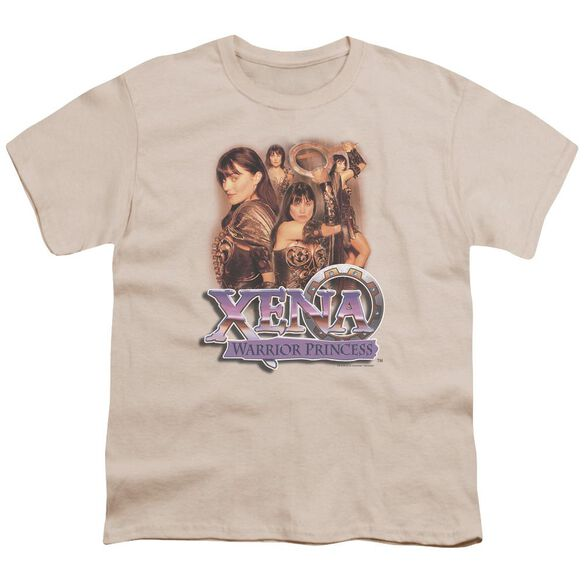 Xena Princess Collage Short Sleeve Youth T-Shirt