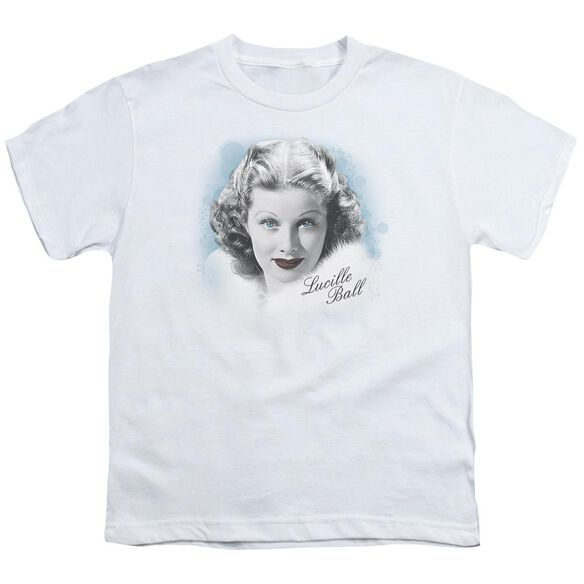 Lucille Ball In Blue Short Sleeve Youth T-Shirt