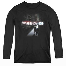 WAREHOUSE 13 THE UNKNOWN - WOMENS LONG SLEEVE TEE
