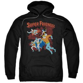 Dc Super Running Adult Pull Over Hoodie