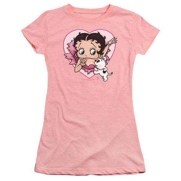 Betty Boop I Love Betty Premium Bella Junior Sheer Jersey