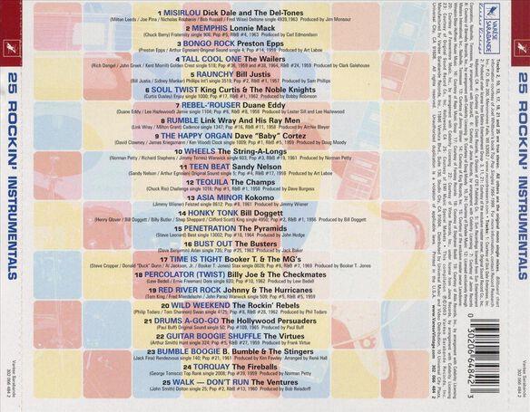 25 Rockin'instrumentals