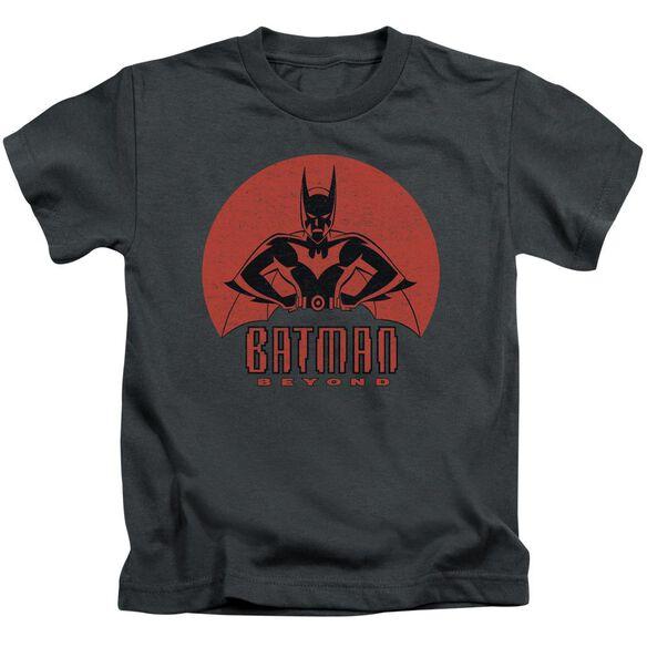 Batman Beyond Stand Tall Short Sleeve Juvenile Charcoal T-Shirt