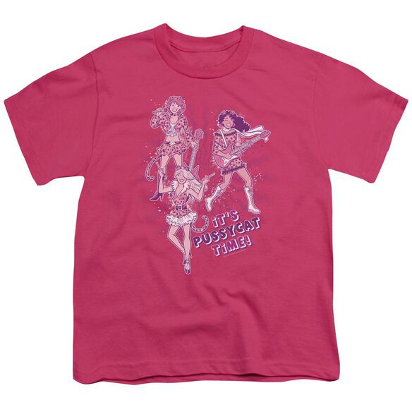 Archie Comics Its Pussycat Time Short Sleeve Youth Hot T-Shirt