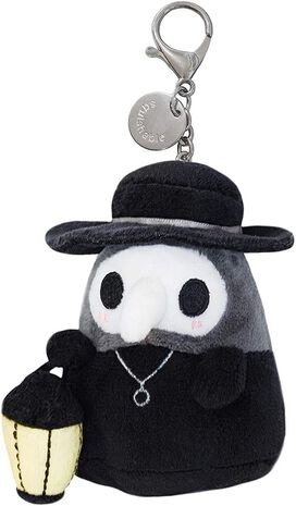 "Squishable Micro Plague Doctor 3"" Plush"