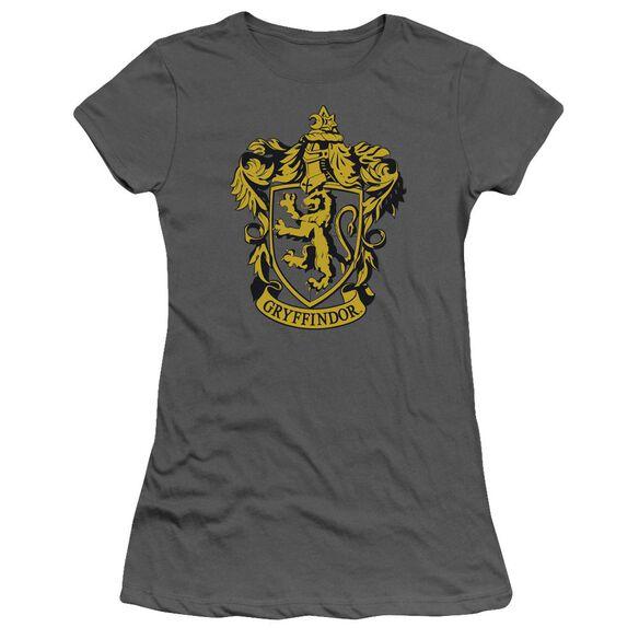 Harry Potter Gryffindor Crest Short Sleeve Junior Sheer T-Shirt