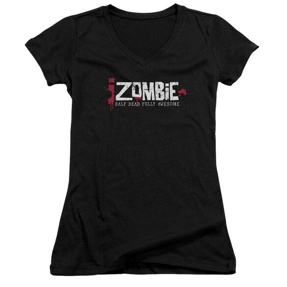 Izombie Logo Junior V Neck T-Shirt