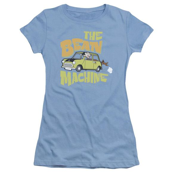 Mr Bean Bean Machine Short Sleeve Junior Sheer Carolina T-Shirt