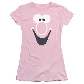 Mr Bubble Bubble Face Short Sleeve Junior Sheer T-Shirt