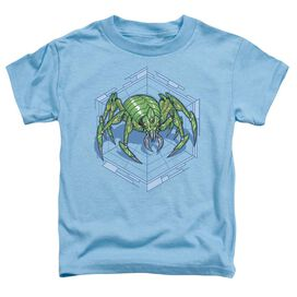 Spider Short Sleeve Toddler Tee Carolina Blue T-Shirt