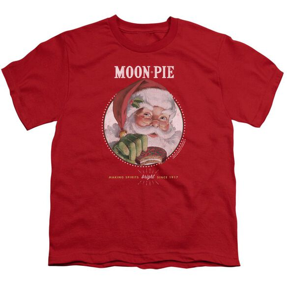 Moon Pie Snacks For Santa Short Sleeve Youth T-Shirt