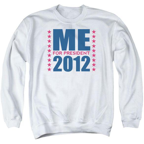 Me For President Adult Crewneck Sweatshirt