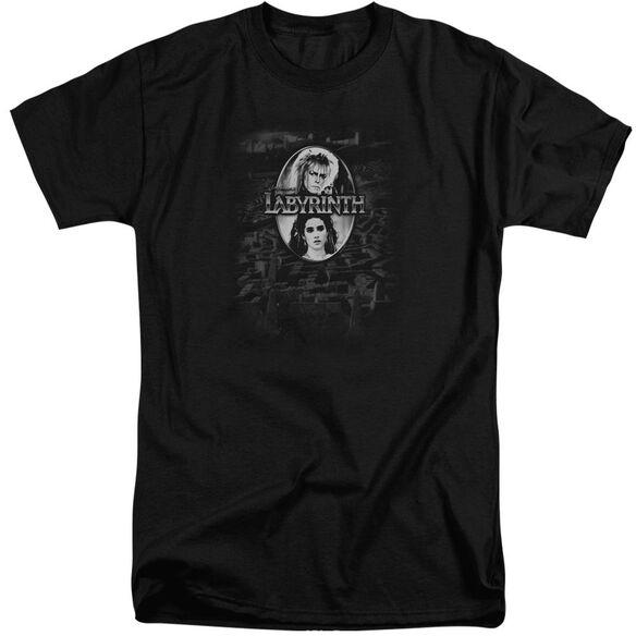 Labyrinth Maze Short Sleeve Adult Tall T-Shirt