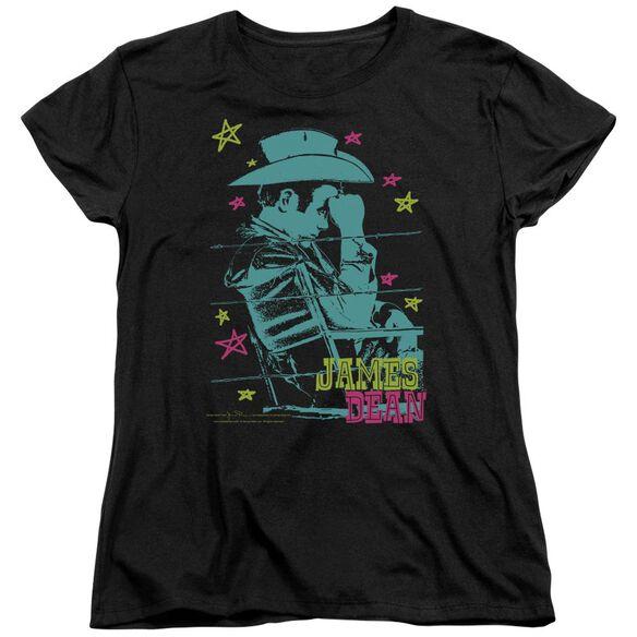 Dean Barb Wire Cowboy Short Sleeve Womens Tee T-Shirt