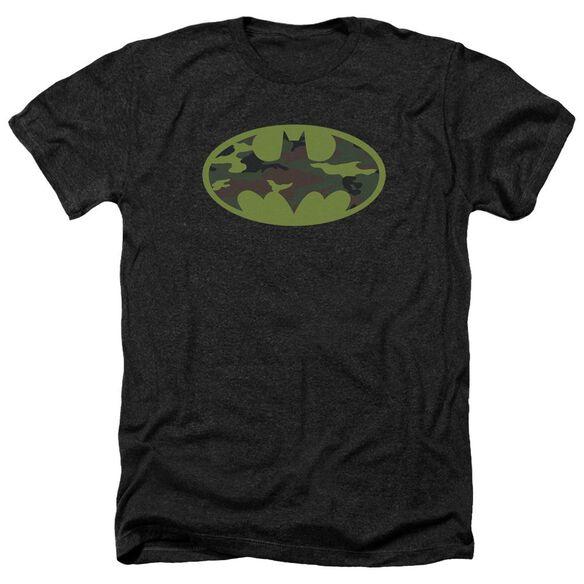 Batman Camo Logo Adult Heather