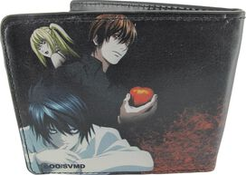 Death Note Ryuk and Trio Wallet